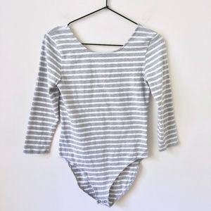 GAP fitted scoop back bodysuit